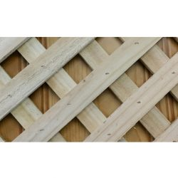 Lattice 2400 x 600 Diagonal Fine Sawn Timber Premier Lattice