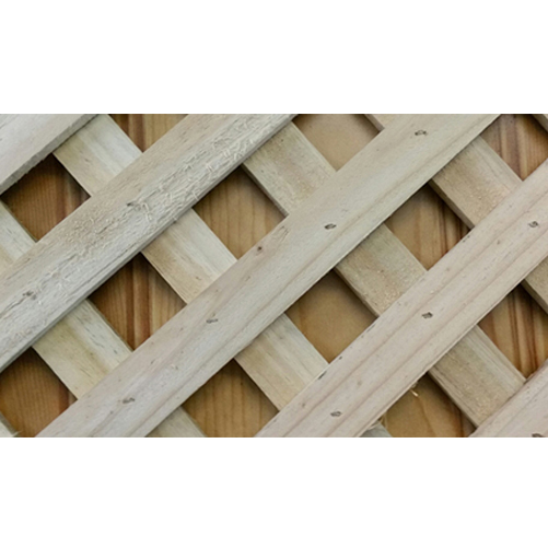 Lattice 3000 x 1200 Diagonal Fine Sawn Timber Premier Lattice