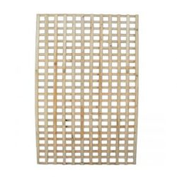 Lattice 3000 x 1200mm Square DAR Timber Premier Lattice