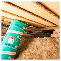 Insulation Batts Optimo Underfloor Glasswool Batts CSR Bradford