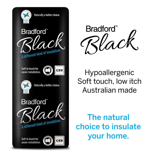 Insulation Batts Bradford Black Wall Batts CSR