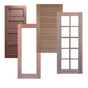 Meranti Solid Door