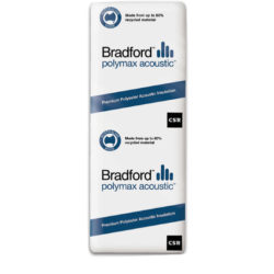 Polymax Acoustic Batts Insulation Bradford CSR