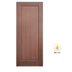 Meranti Solid 1 Panel Door Maple Veneer SP-1P Various Sizes