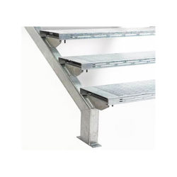 Steel Stair Stringers Galintel Galvanised Various Sizes