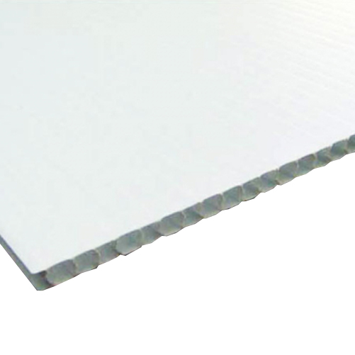 Corflute Sheets White 2440 x 1220mm x 3mm