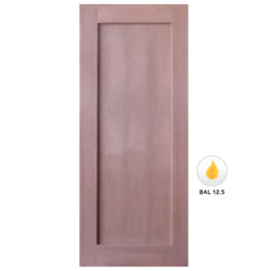 Meranti Solid 1 Flat Panel Shaker Door Various Sizes SP-SK1