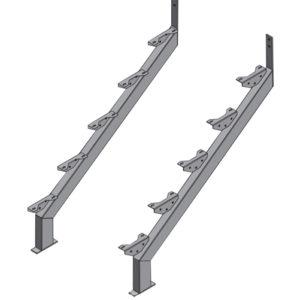 Steel Stair Stringers Galintel