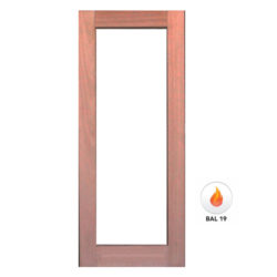 Meranti Door Solid 1 Light Door GD-1L Various Sizes