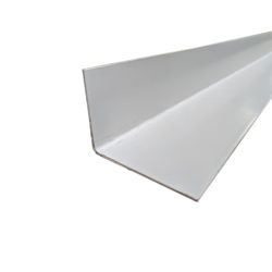 PVC Flashing 75 x 50 x 1.25mm Angle 3.0m