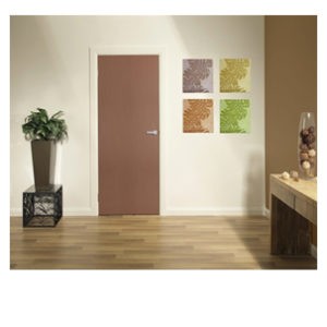 Flush Doors Vertical Rosewood