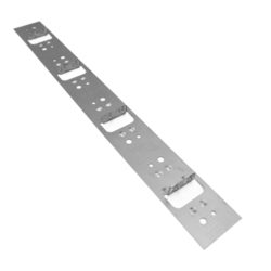 Kleva Klip 137mm Top Fix Stainless Steel