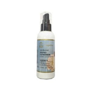 Hand Sanitiser 125ml Anti Bacterial Spray Bottle