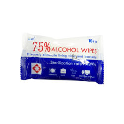 Alcohol Wipes 75% Sterilisation Rate 99.99%