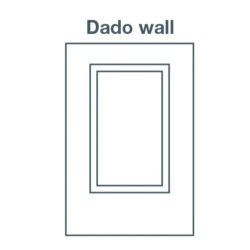 Easycraft easyASCOT MR MDF 900 x 600 x 9mm Dado Wall