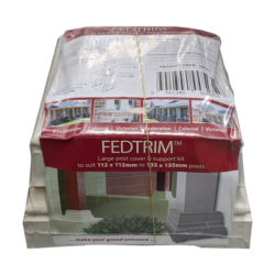 Fedtrim 112-135mm Post Cover and Support Kit