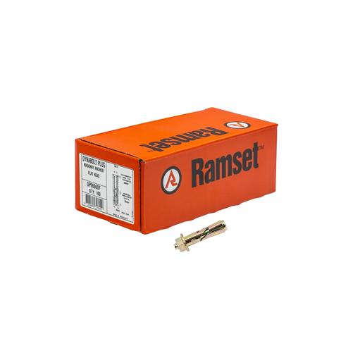 DynaBolt 6 x 26mm Hex Nut Bolt Ramset