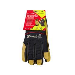Safety Gloves Leather G-force Maxisafe Mechanics Gloves