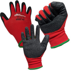 Safety Gloves Gripmaster Maxisafe Red Knight Latex Gloves