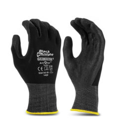 Safety Gloves Gripmaster Maxisafe Black Knight Gloves
