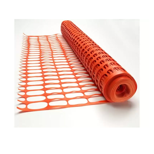 Safety Barrier Mesh 1m x 50m Plastic Hazard Net