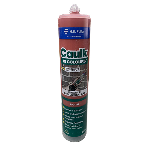 Caulk in Colour Earth 450g HB Fuller