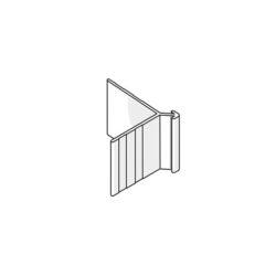 James Hardie 306102 9mm External Slimline Corner 3.0m