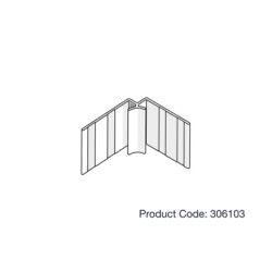 James Hardie 306103 Internal Concave Corner 3.0m