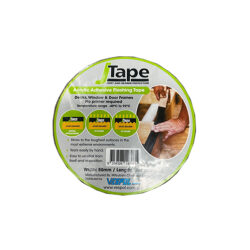 Acrylic Adhesive Flashing Tape  100mm x 20m J Tape