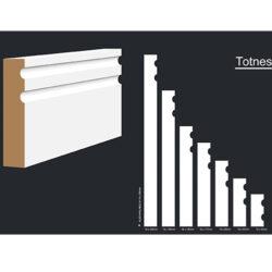 Primed MDF Totnes 240 X 18 White